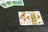 Fényképek Póker játék - van két király a nyílt játékkártya