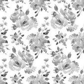 akvarell virág zökkenőmentes minta