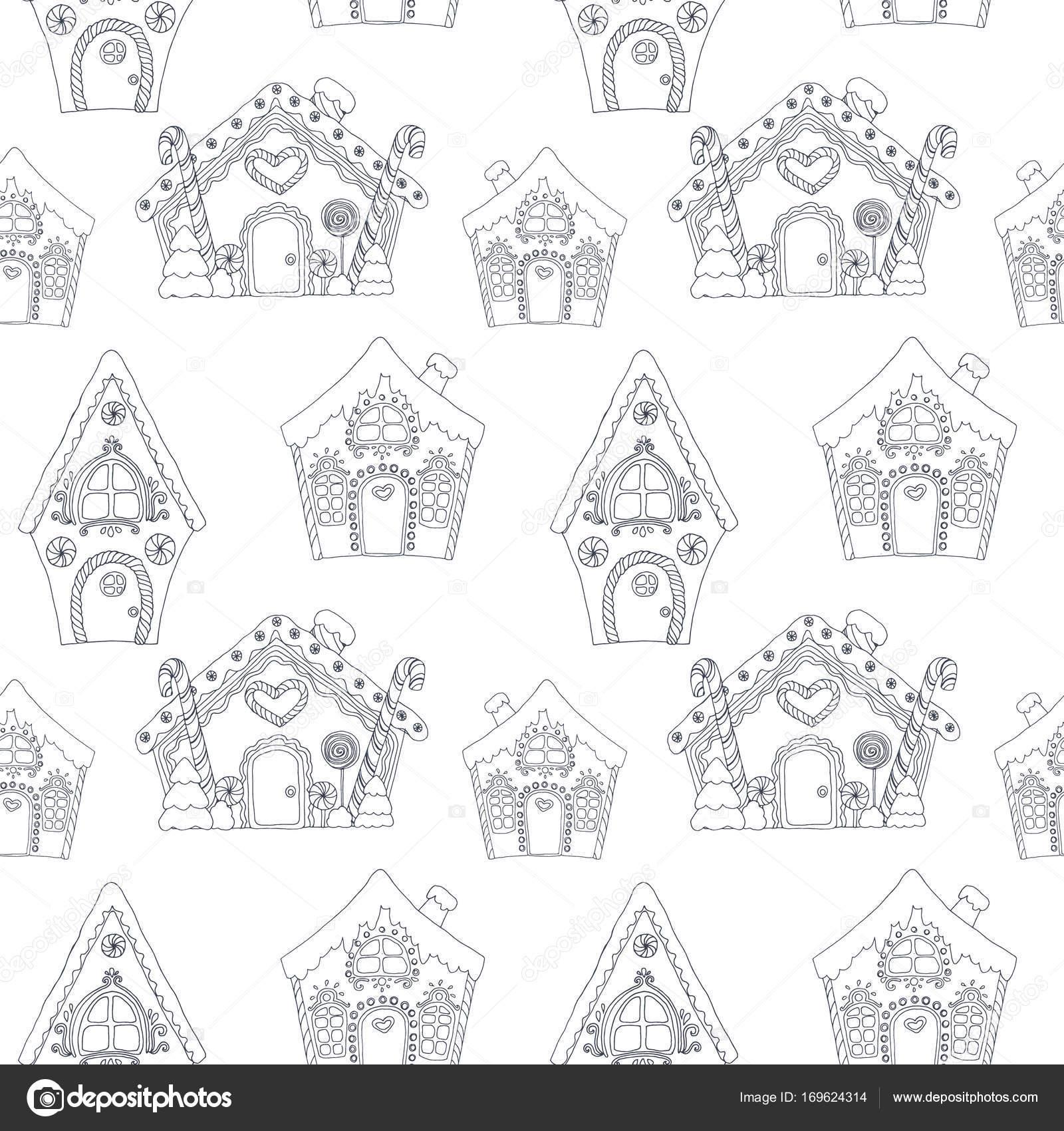 Weihnachten Malvorlagen Seiten Muster — Stockvektor © ZeninaAsya ...