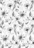 Aquarell florales Muster