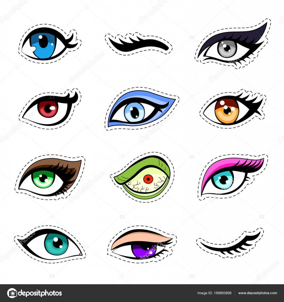 Imágenes: Ojos Anime Mujer