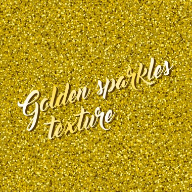 Background of  gold glitter