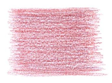 Pink pencil shading