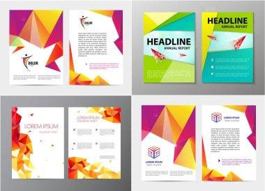 set of template design