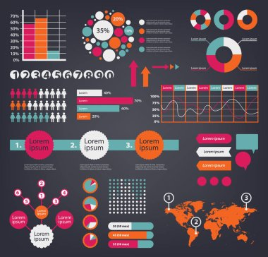 travelling infographics with world map and graphics