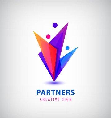 men group logo icon