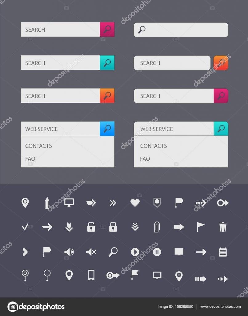 Suche Bar-Design-Vorlagen — Stockvektor © Marylia #156285550