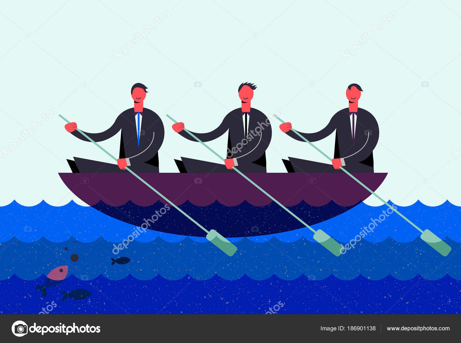 three men in a boat characters
