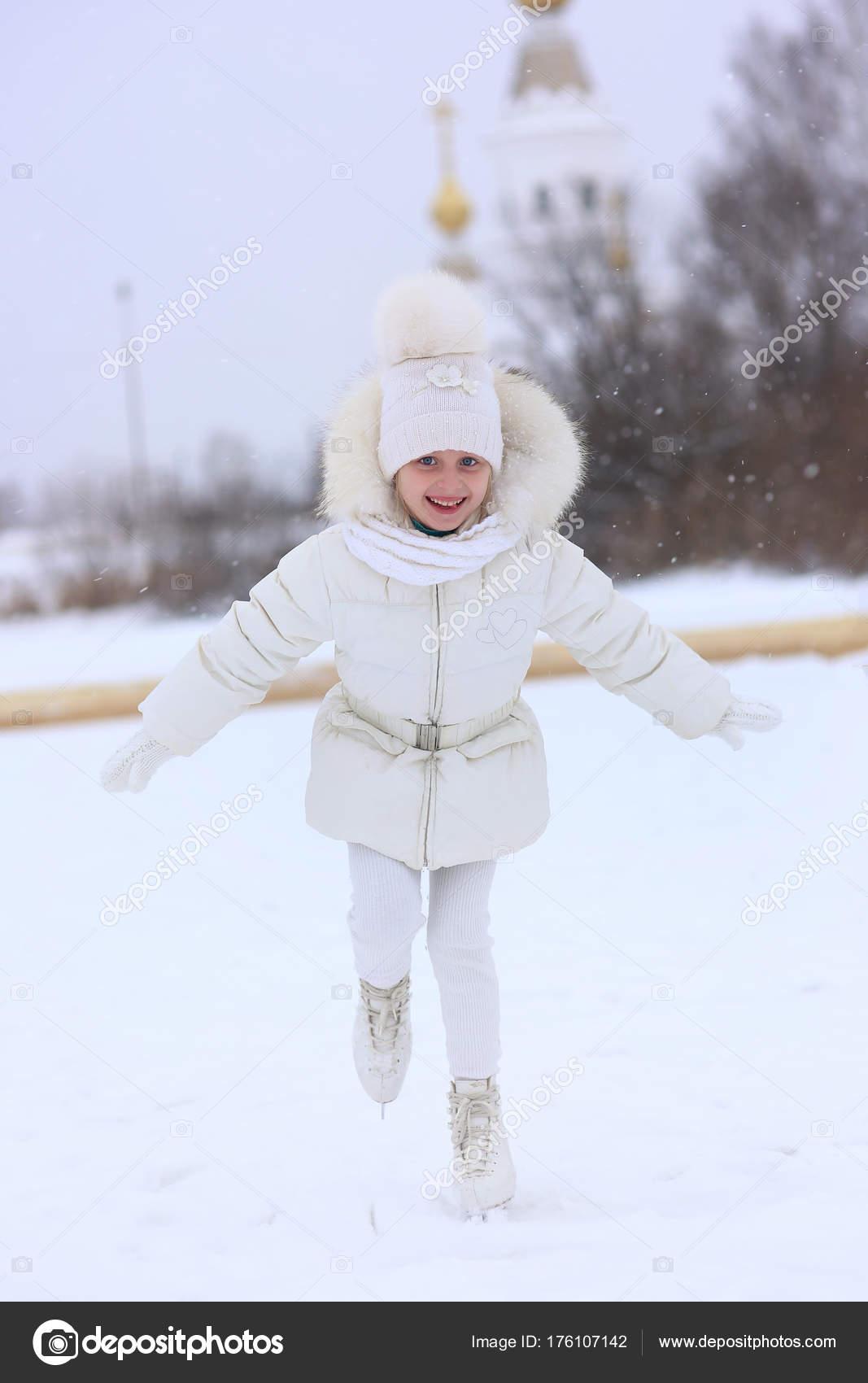 Veste blanche petite fille