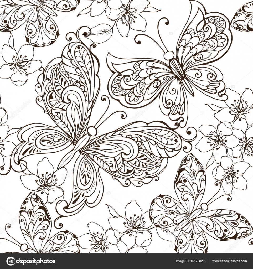 bloemen en vlinders kleurplaten 28 afbeeldingen