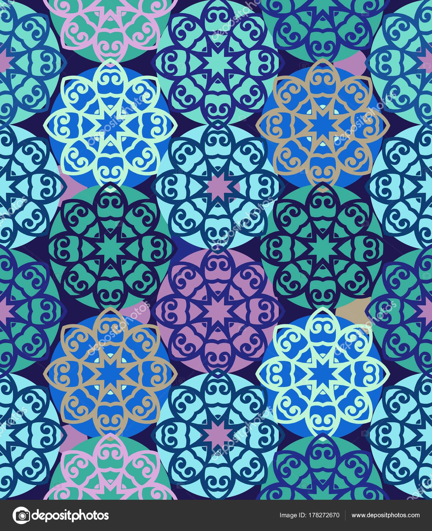 Patr n transparente azul con azulejos mosaico papel pintado floral adorno decorativo para la - Papel autoadhesivo decorativo ...
