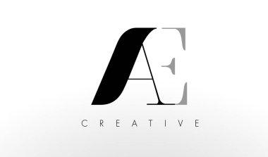 A E Letter Logo Design. Creative AC Letters Icon