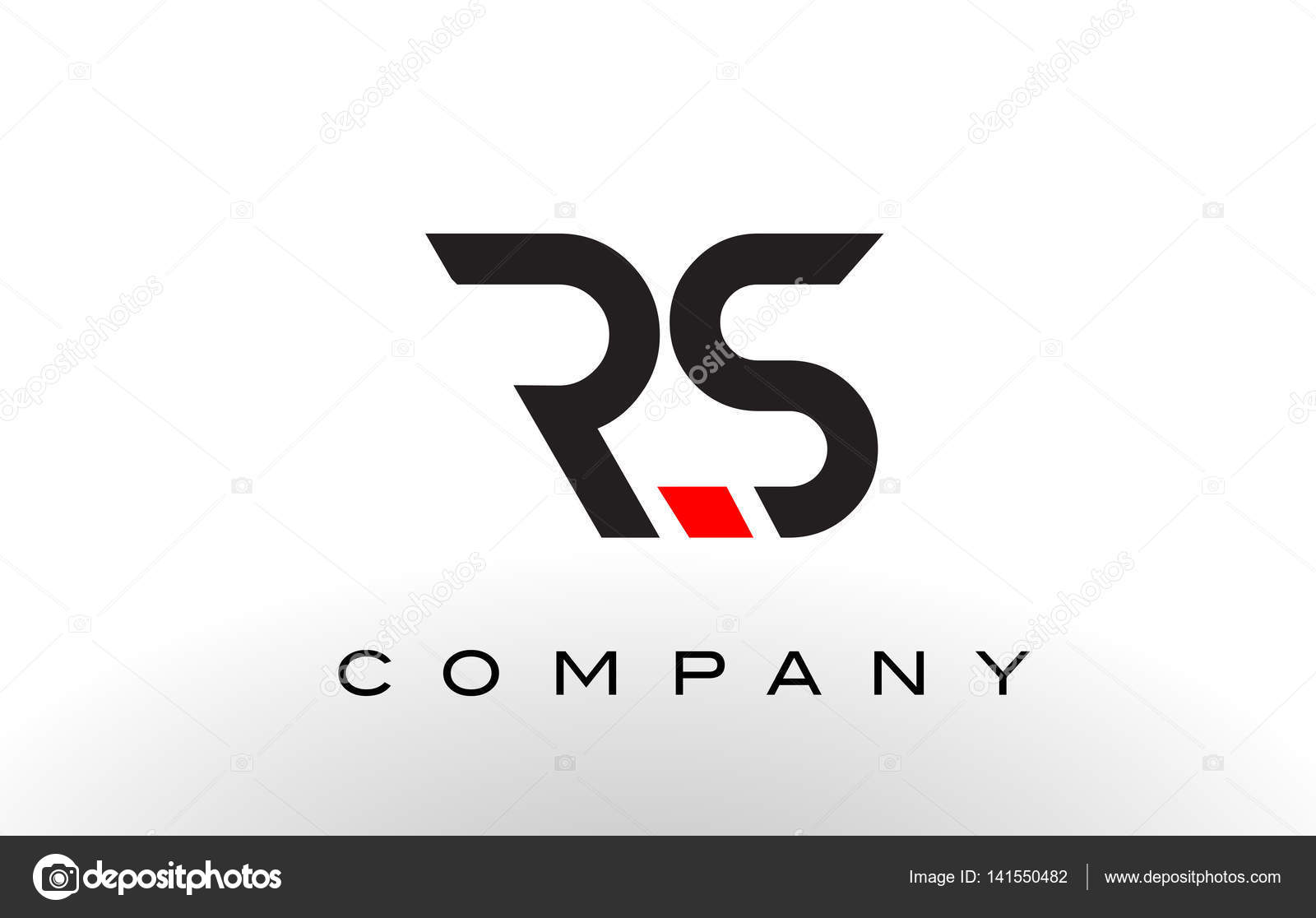 Rs logo letter design vector stock vector twindesigner 141550482 rs logo letter design vector with red and black colors vector by twindesigner buycottarizona Image collections