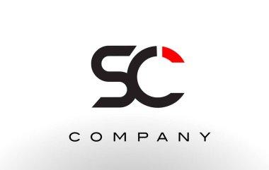 SC Logo.  Letter Design Vector.