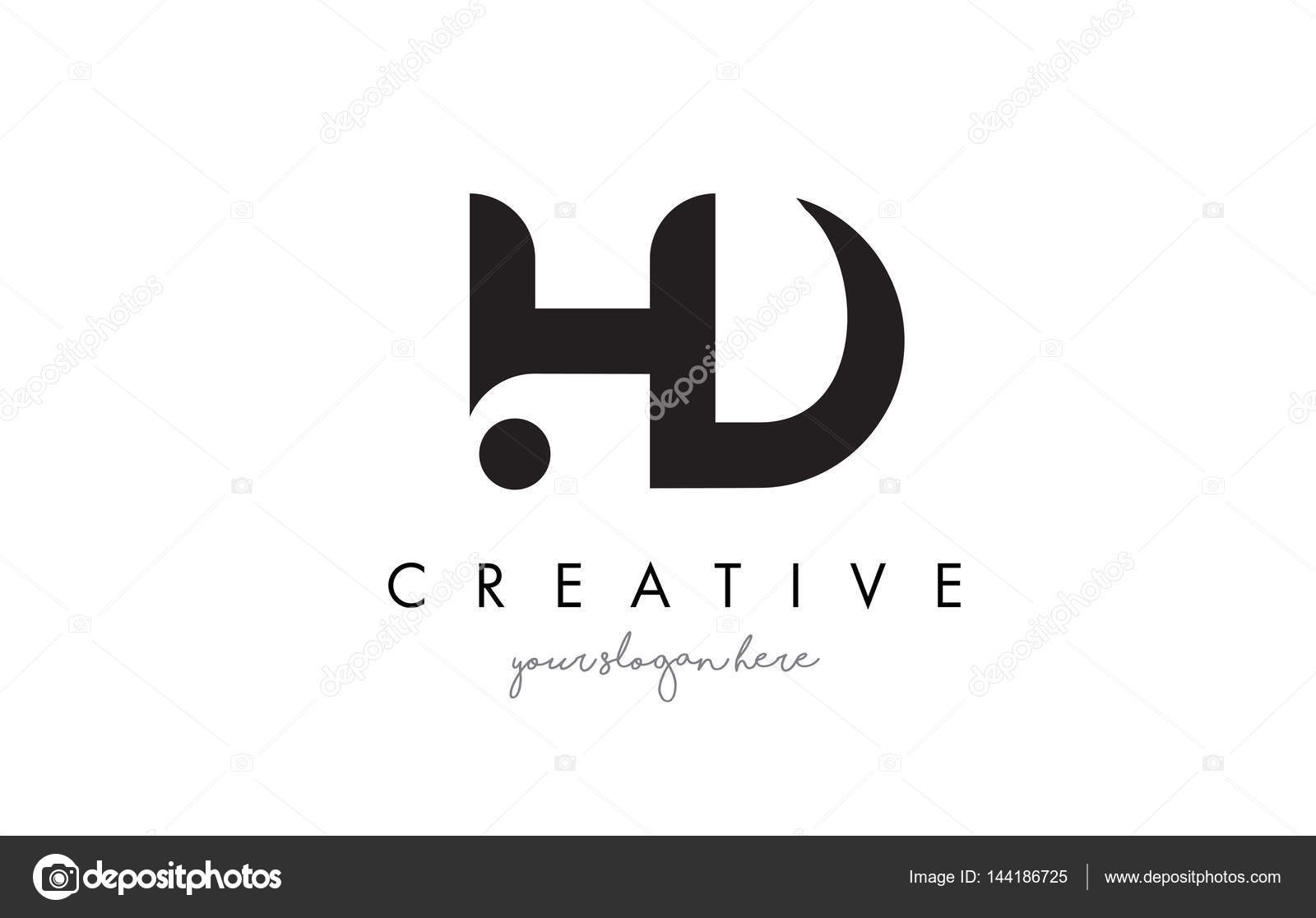 hd letter logo design with creative modern trendy