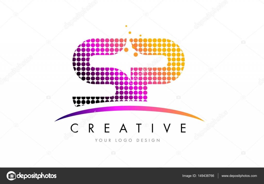 Images Sp Letter Hd Sp S P Letter Logo Design With