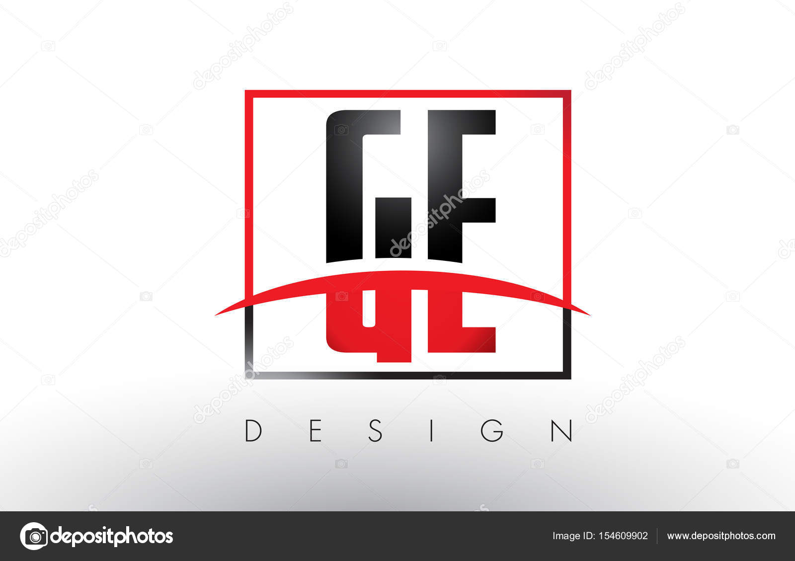 Ge g e logo letters with red and black colors and swoosh stock ge g e logo letters with red and black colors and swoosh stock vector biocorpaavc Gallery