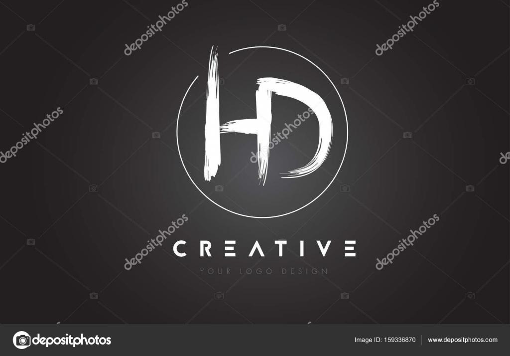 Spazzola Hd Lettera Logo Design Lettere Scritte A Mano Artistica