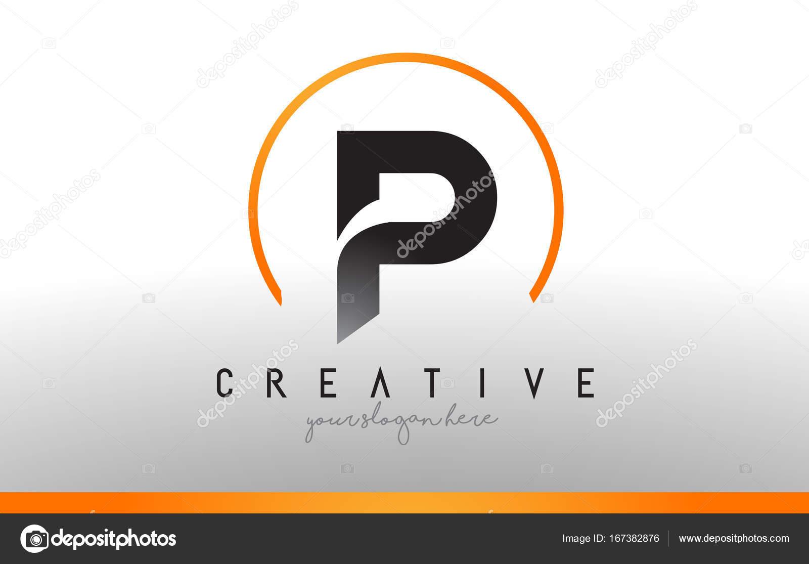 P letter logo design with black orange color cool modern icon t p letter logo design with black orange color cool modern icon t stock vector biocorpaavc Images
