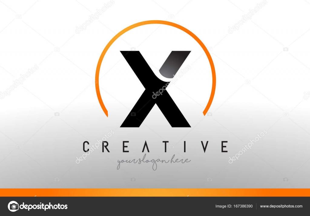 X letter logo design with black orange color cool modern icon t x letter logo design with black orange color cool modern icon t stock vector biocorpaavc Images