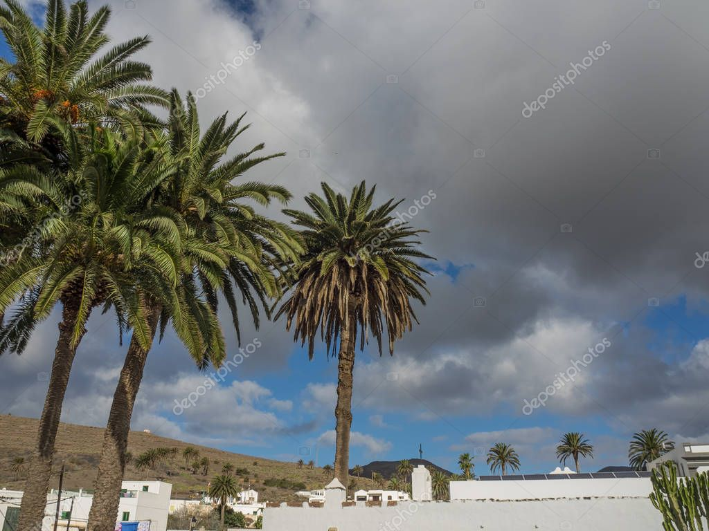 The spanish island of lanzarote