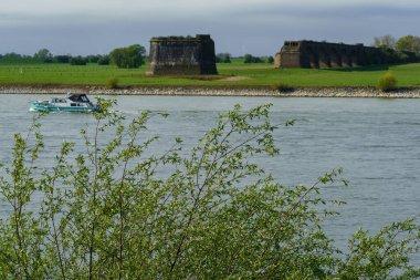 """Картина, постер, плакат, фотообои """"река рейн в германии недалеко от города везель картины модульныеl москва"""", артикул 364932310"""