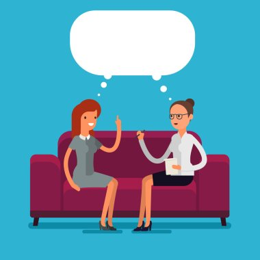 Psychological counseling concept