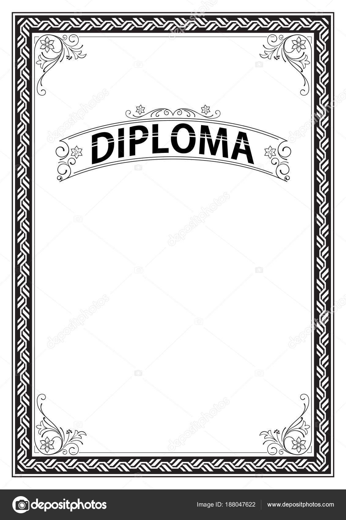 диплом черно белый в картинках