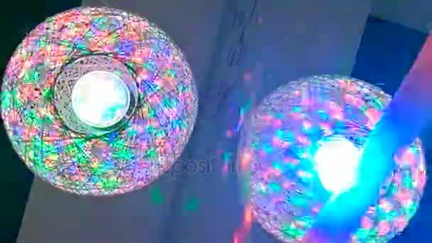 disco fények. DJ izzó labda. élénk színek, ezen a környéken:.