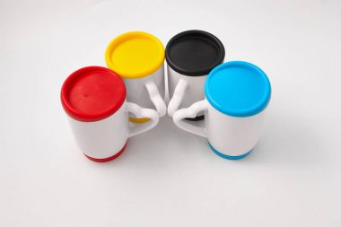 Souvenir products for thermal transfer of images. Cups.