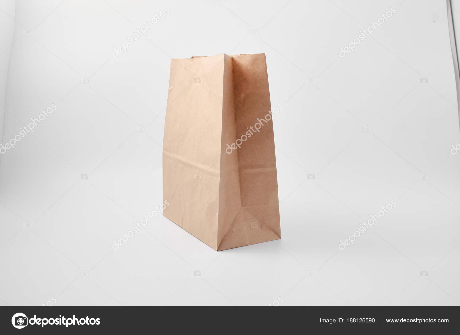 De Papieren Zak : Papieren zak voor voedingsproducten fast food verpakking