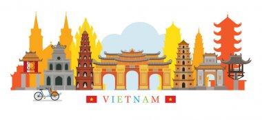 Vietnam Architecture Landmarks Skyline