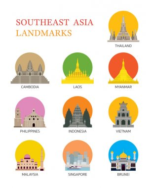 ASEAN, Southeast Asia Landmark Set