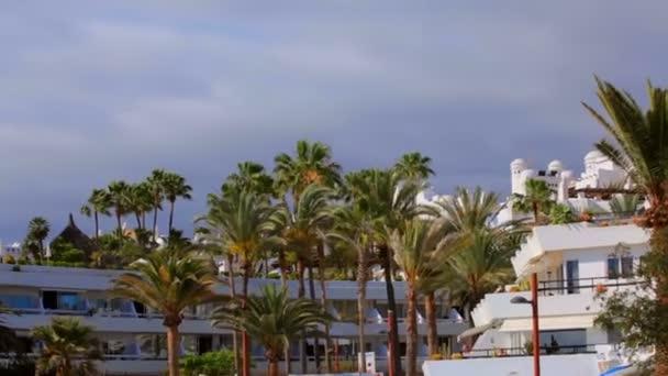 Blick auf Luxus Hotel Jardin Tropical Kanarischen Spanien ...