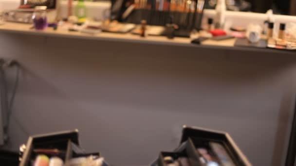 professzionális kozmetikai bőrönd tábla stúdió