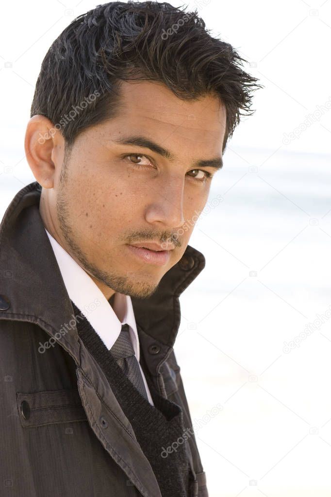 Beautiful hispanic men | Portrait of an attractive young