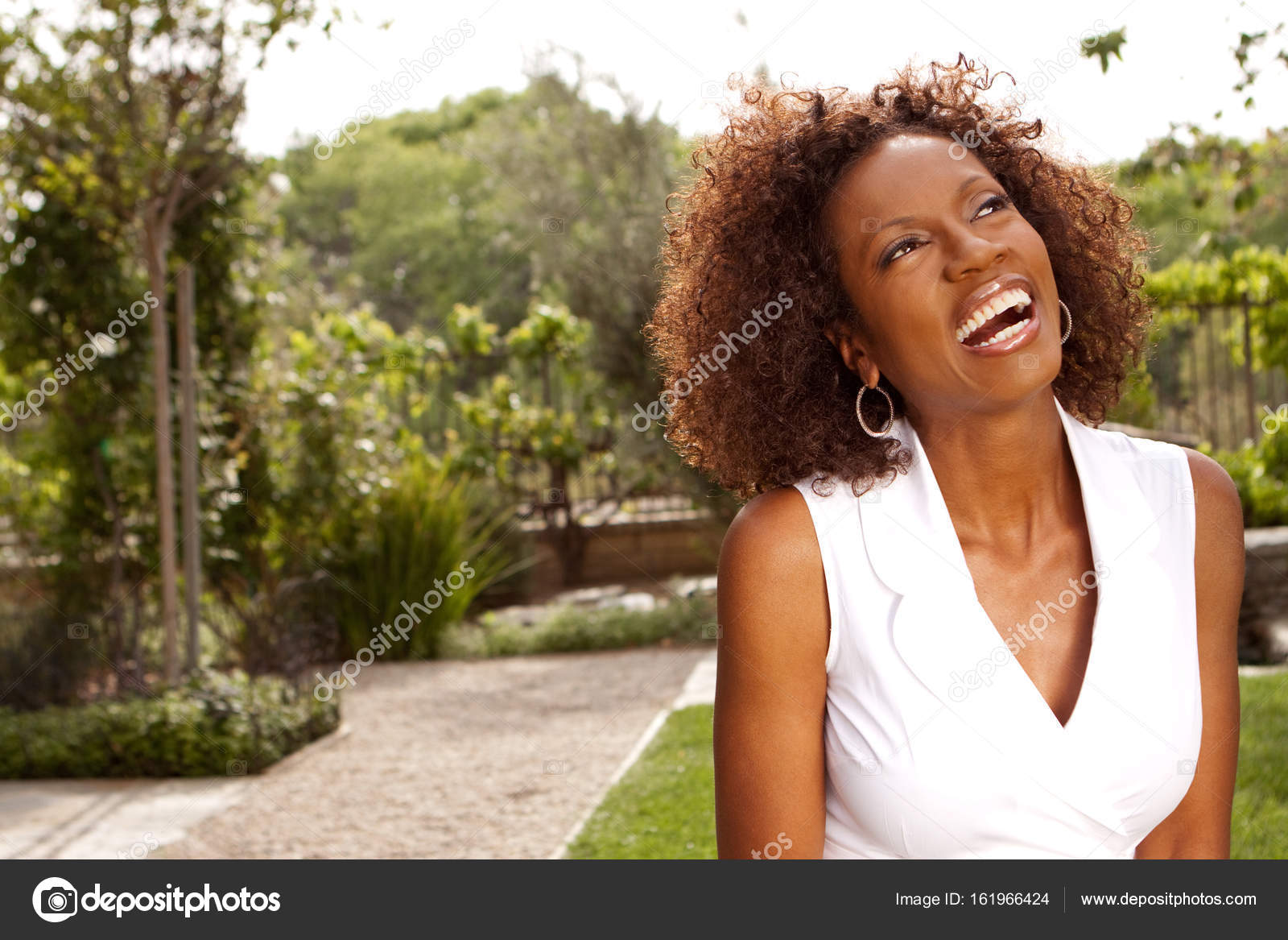 African American mature woman.– stock image