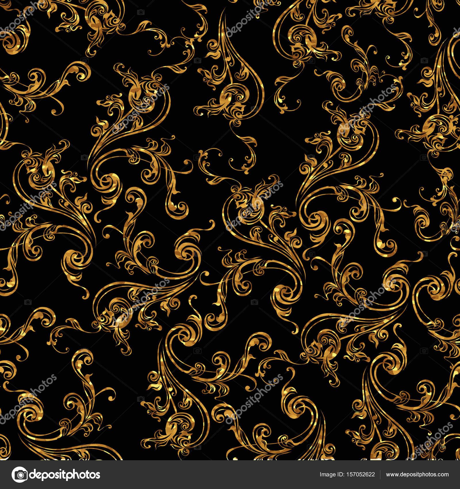 vintage background antique victorian gold ornament. Black Bedroom Furniture Sets. Home Design Ideas
