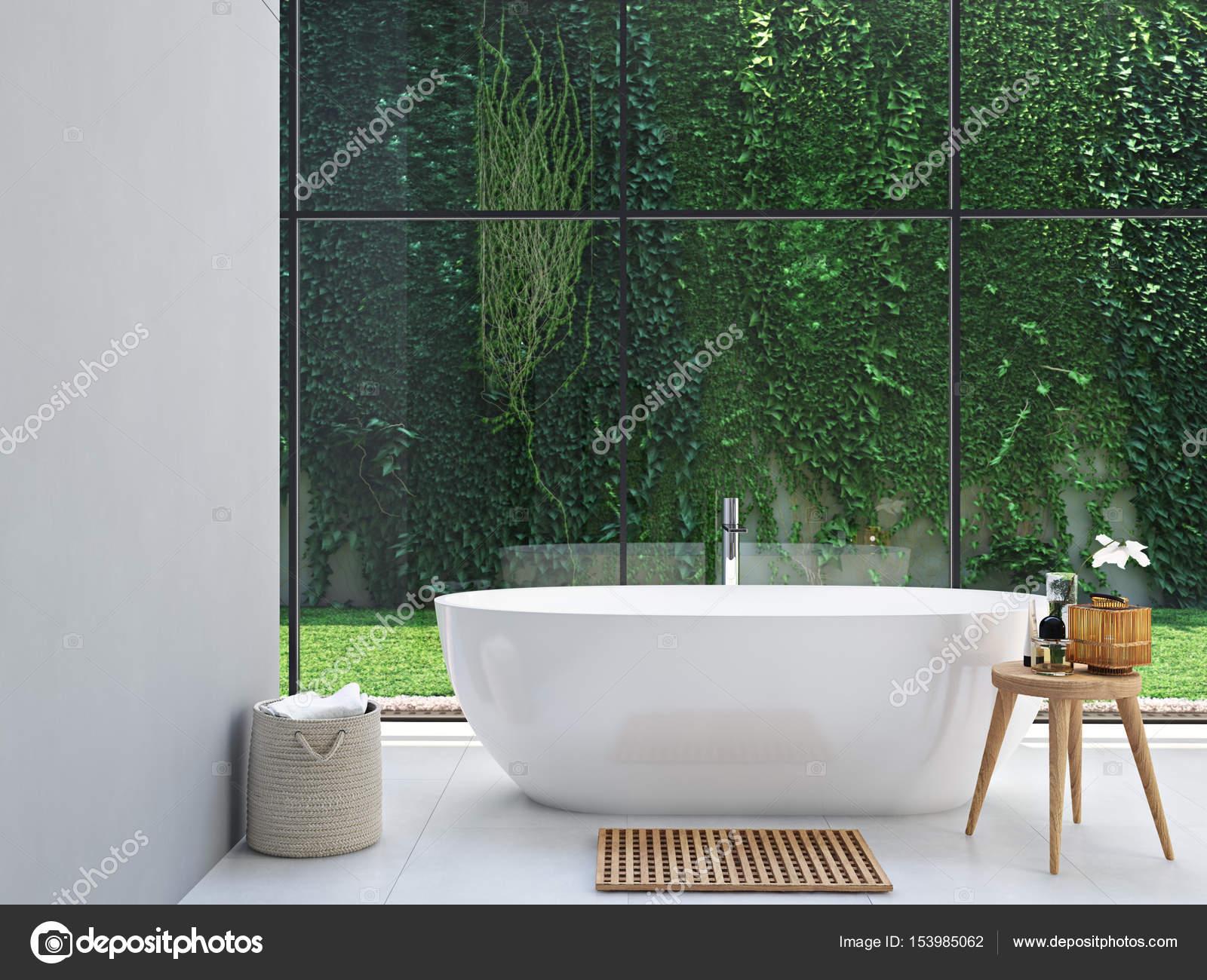 bagno verde spa. rendering 3D — Foto Stock © 2mmedia #153985062