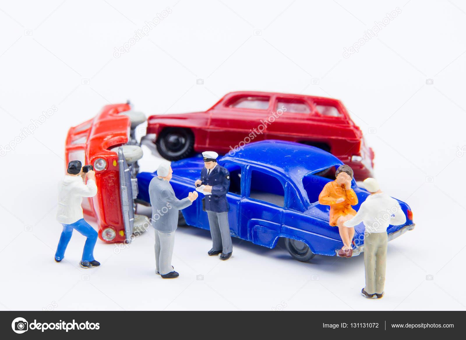 Miniatures Crash Endommagée Voiture Accident Jouets Minuscules De 8N0wmn