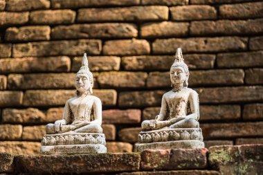 Buddha statue in Thai temple.