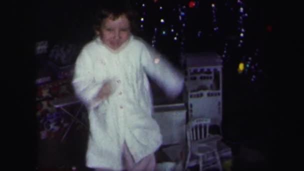 Baby girl dancing