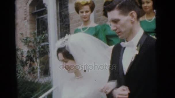 Nevěsta a ženich schodů