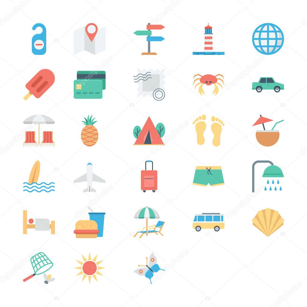 The Summer Is Not Over Yet Celebrate This Endless Summer With This Summer And Holidays Vector Icons Pack Premium Vector In Adobe Illustrator Ai Ai Format Encapsulated Postscript Eps Eps Format