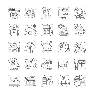 Line Icons With Detail 13