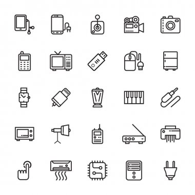 Electronics Vector Icons 6