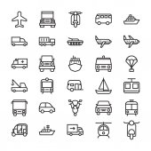 Photo Transport Colored Vector Icons 3