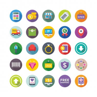 Shopping and Commerce Vector Icons 3