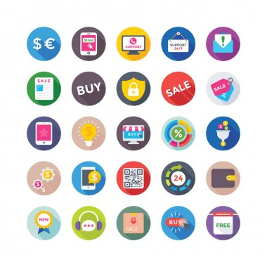Shopping and Commerce Vector Icons 4