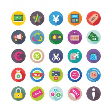 Shopping and Commerce Vector Icons 8